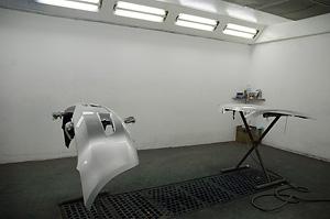Pintura i planxa de cotxes. Taller Masjoan. Riudellots de la Selva. Girona