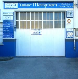 Taller Masjoan. Mecànica, xapa, pintura i pmeumàtics a Riudellots de la Selva. Girona