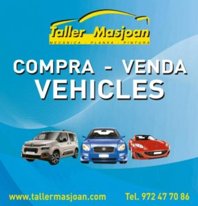 Purchase of vehicles Workshop Masjid Riudellots de la Selva Girona